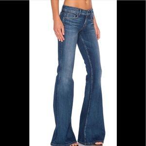 Anthropologie Level 99 Dahlia flare jeans